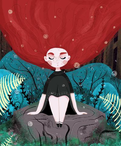 redhead-girl-stone-forest-jpg