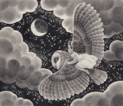 girl-flying-owl-night-moon-stars-clouds-jpg
