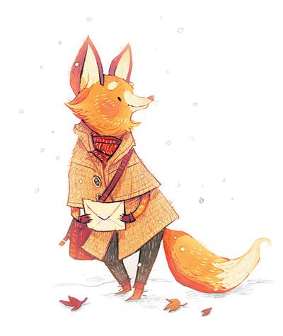 fox-post-letter-woodland-creature-jpeg