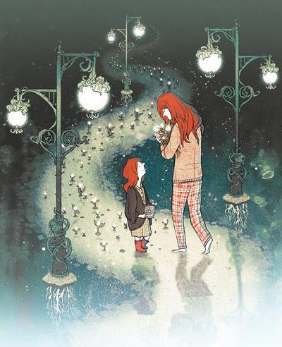 girl-red-hair-dream-path-streetlamp-jpg