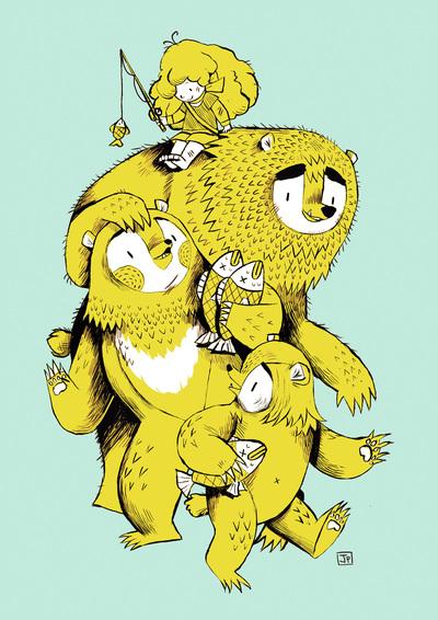 goldilocks-three-bears-bold-yellow-cyan-fish-jpg