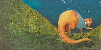 otter-playful-grass-sky-jpg