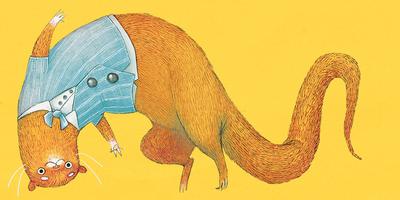 otter-smart-bowtie-waistcoat-upside-down-silly-jpg